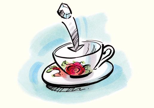 Die Ostfriesische Teezeremonie